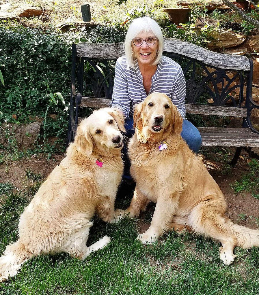 Jan Fishler fell in love with Golden Retrievers Alice and Toby long before she learned they are Trust Fund Dogs.