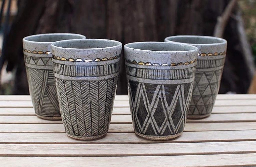 Stephanie Adams creates unique pieces at her Pickle Pottery studio in Nevada City.
