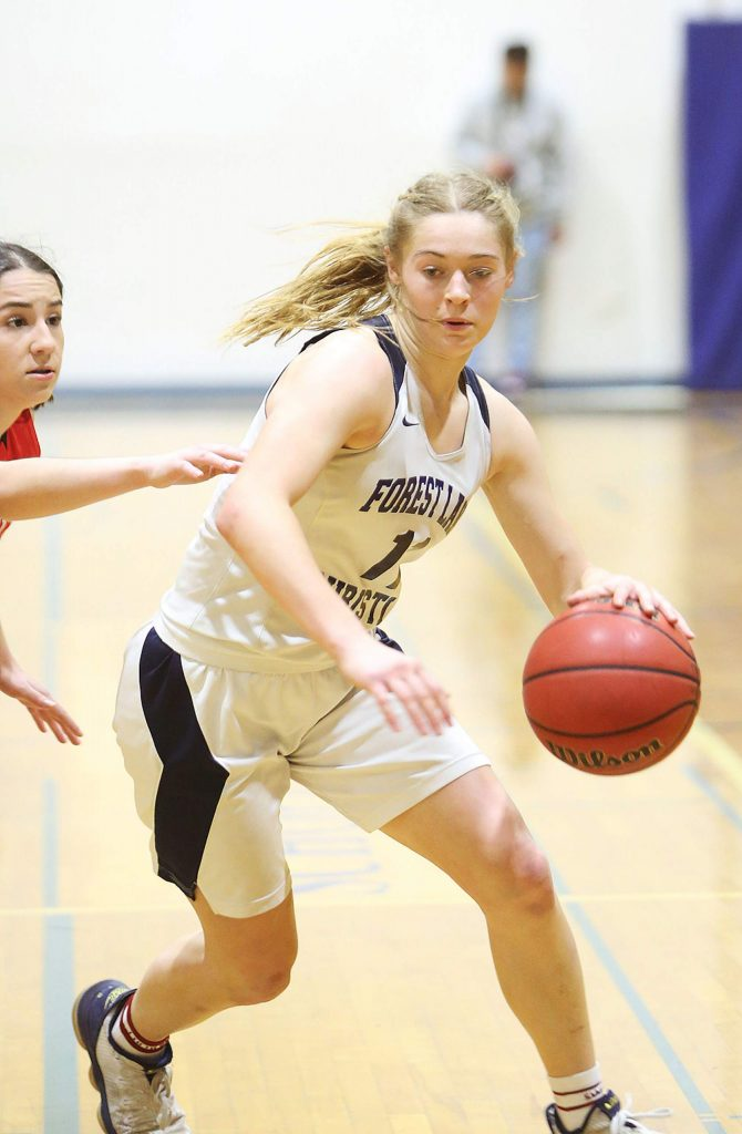 Forest Lake Christian graduate Amber Jackson, who was a standout in multiple sports, is set to attend Oregon State in the fall. She plans to compete on the school's soccer and track teams.