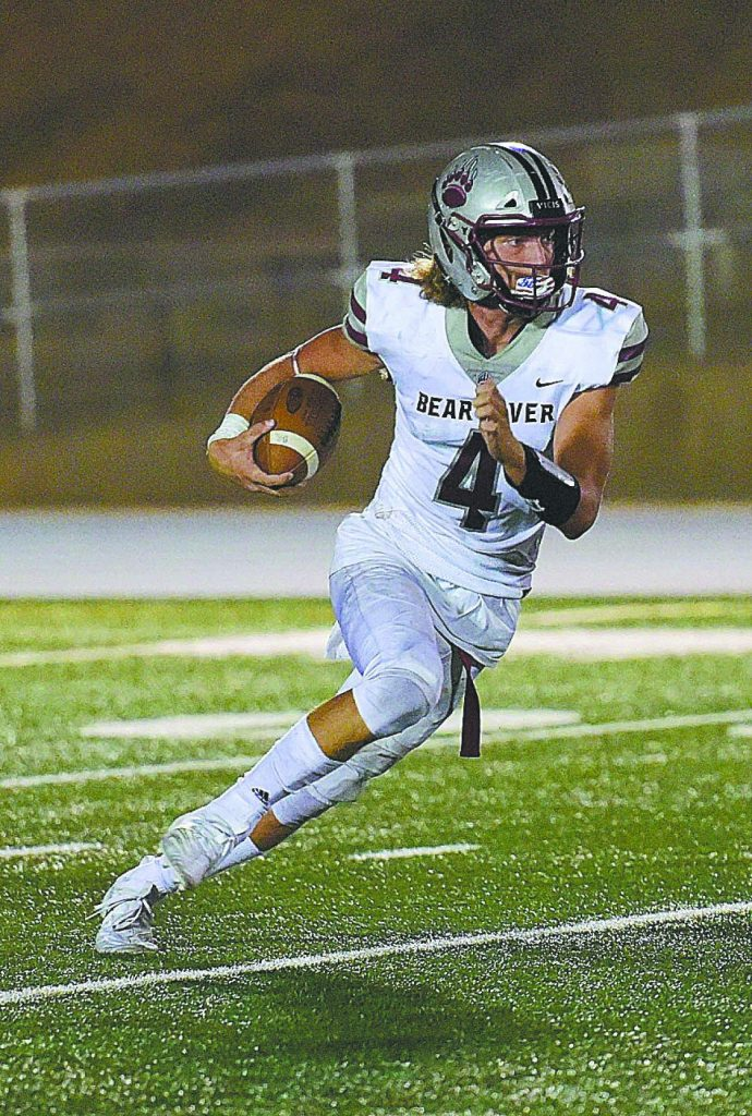 Bear River graduate Tre Maronic is set to attend and play football at Western Illinois University in the fall.