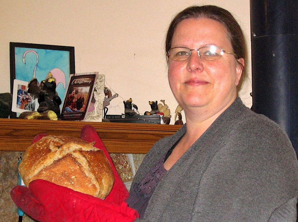 Karen Gobert has been a baker since childhood, but ramped up her breadmaking during the last two months.