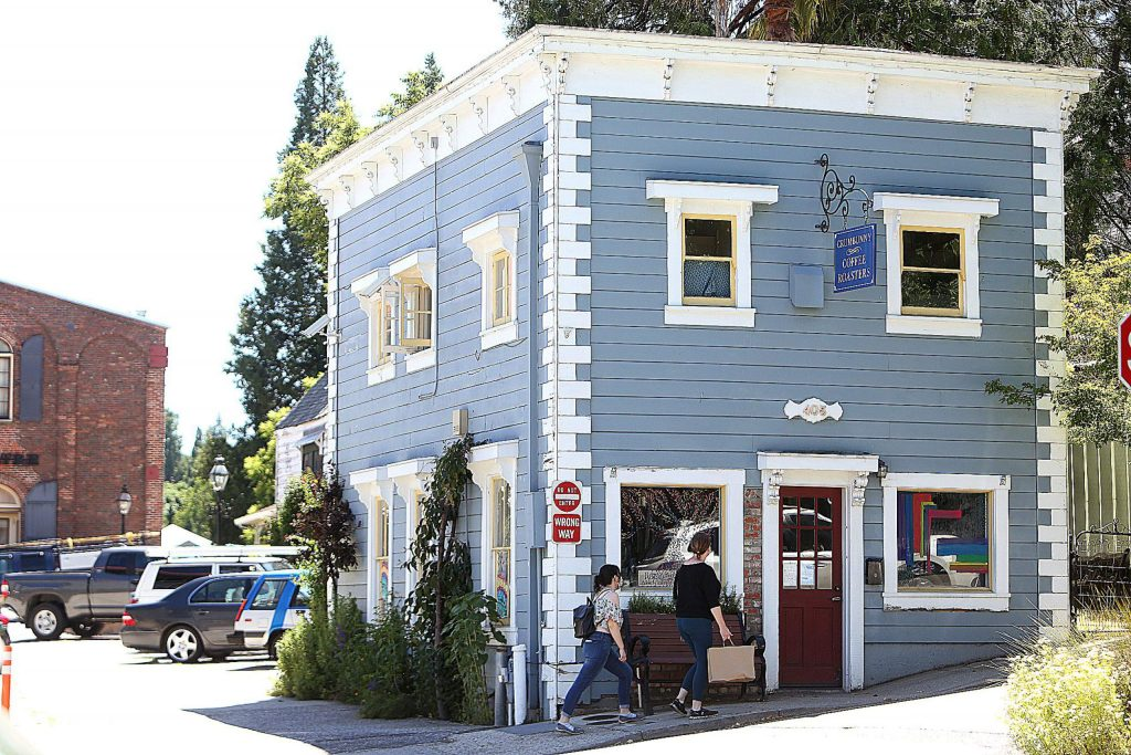 Crumbunny Coffee Roasters in Nevada City is another downtown Nevada City business helped by the county Relief Fund.