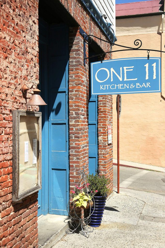 One 11 Kitchen and Bar off Commercial Street in downtown Nevada City is one of a handful of local businesses that plans to continue serving indoor dining despite Gov. Gavin Newsom's most recent order.