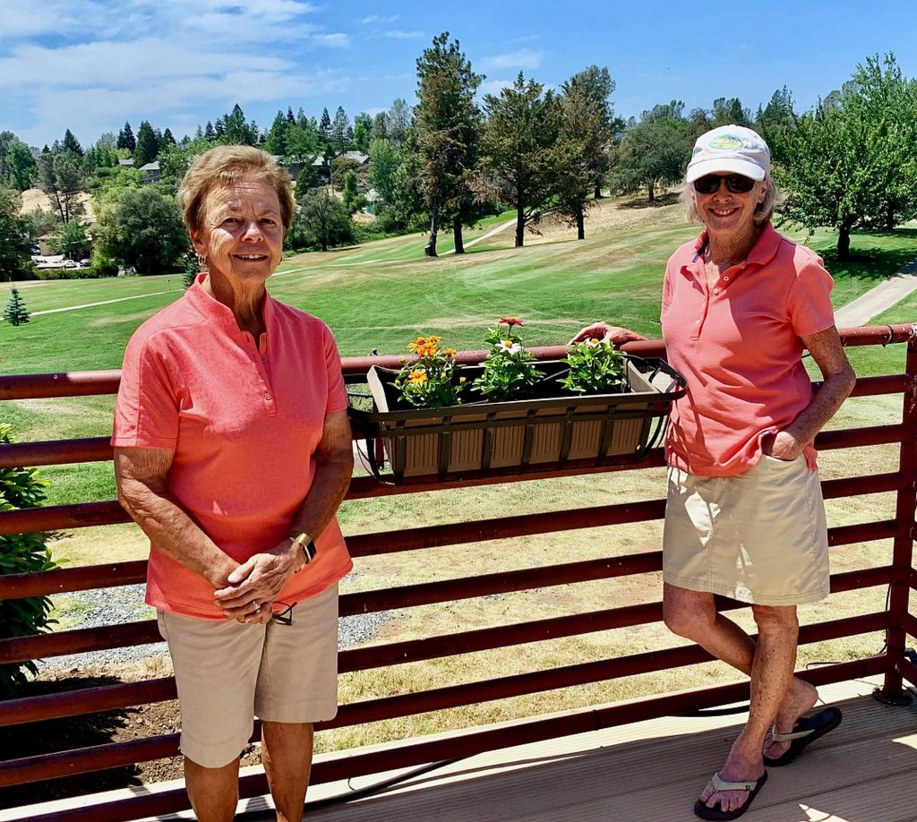 Donna Carter and Marian Slayton won the Nevada County Country Club Women's Group Partner's Best Ball Tournament.