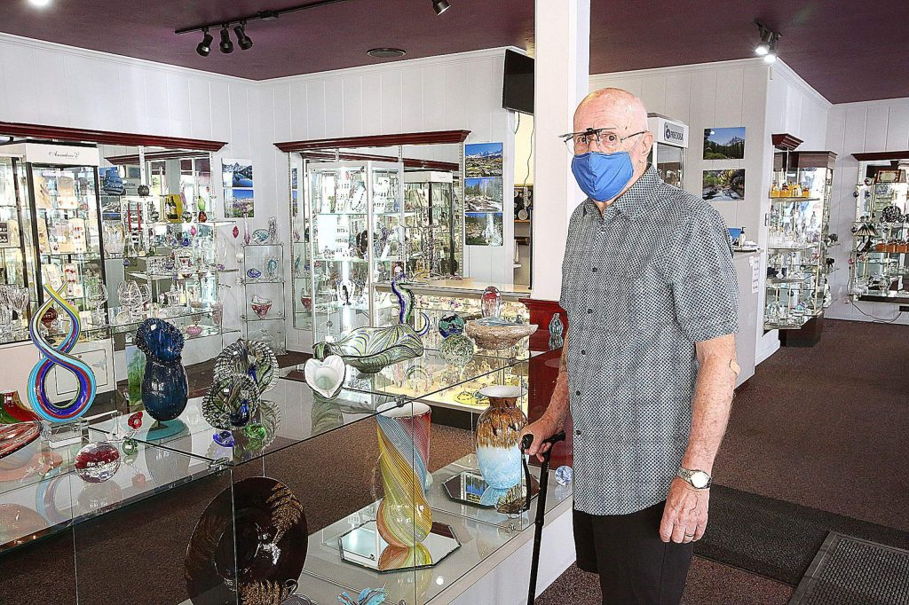 Nevada City Crystal & Glass owner Peter Ray has decided to sell the business after 37 years of operation.