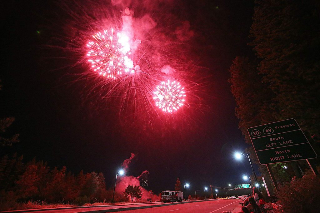 The property of the proposed Dorsey Marketplace was the site where Saturday's Fourth of July fireworks display was launched.
