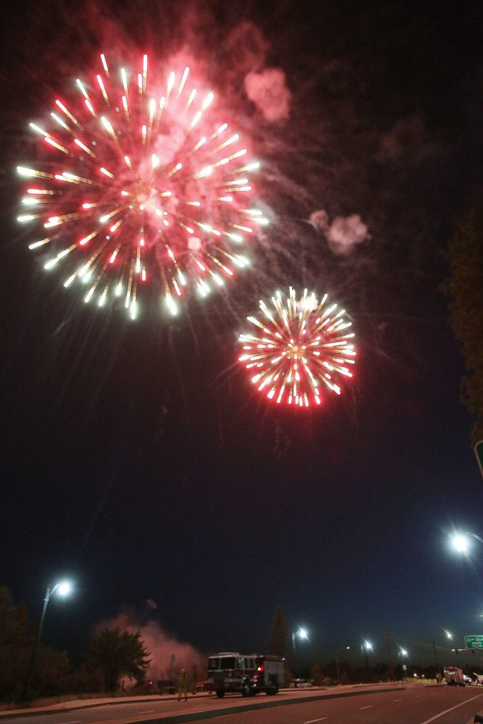 Some spoke of being in favor of the change of venue for Saturday's Fourth of July fireworks display.