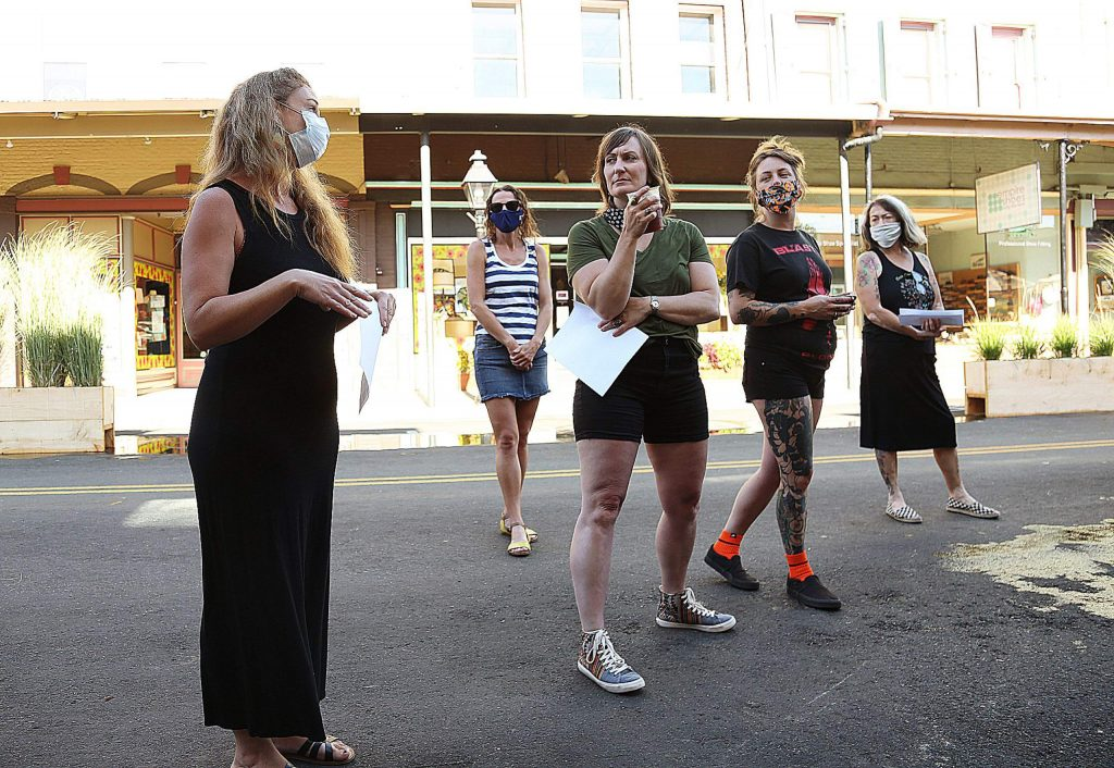 Moms & Minis owner Emily Rangel compiled a list of concerns and asked other downtown Grass Valley business owners to show up to a meeting scheduled with City Manager Tim Kiser Friday morning.