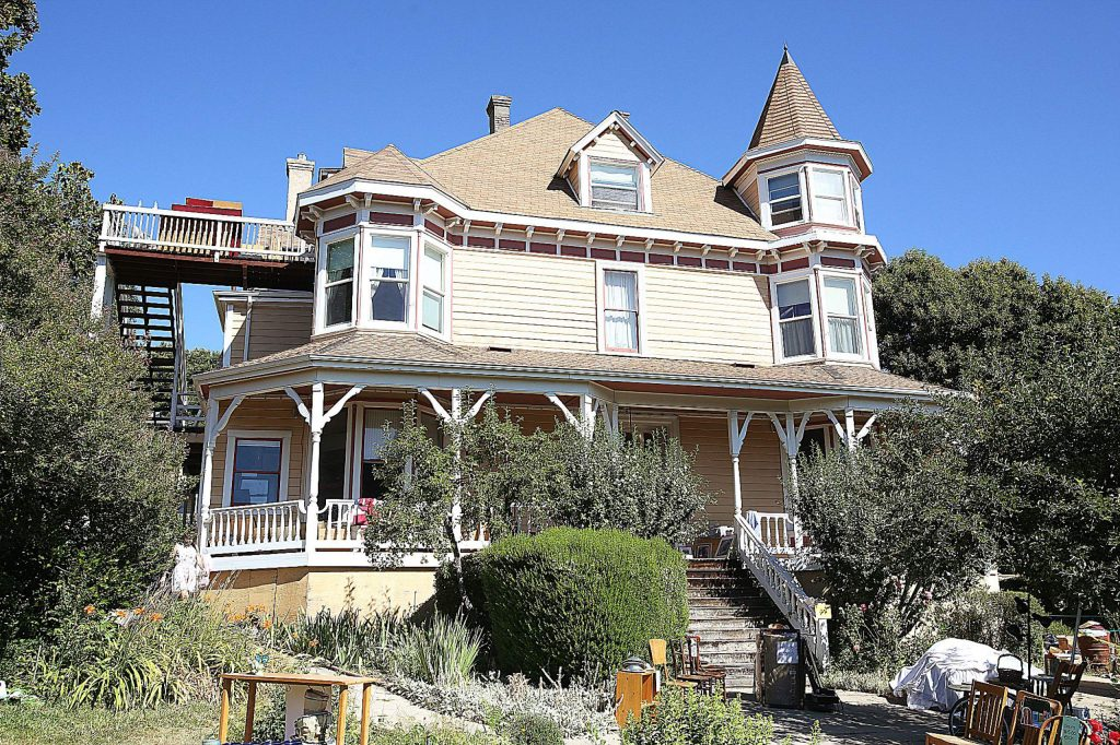 The Swan Levine House in the 300 block of Church Street is steeped in history, being Grass Valley's hospital at one time.