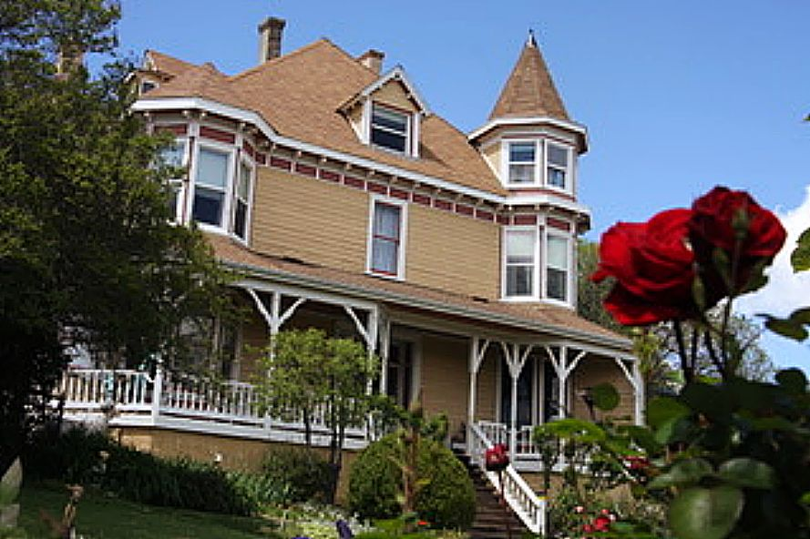 The Swan Levine House, an historic Bed and Breakfast Inn, is for sale.