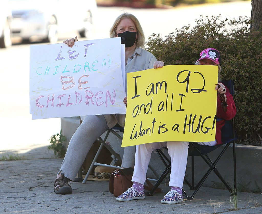 Thursday's rally outside of BriarPatch Food Co-op wasn't all about mask mandates, but also about compassion and understanding.