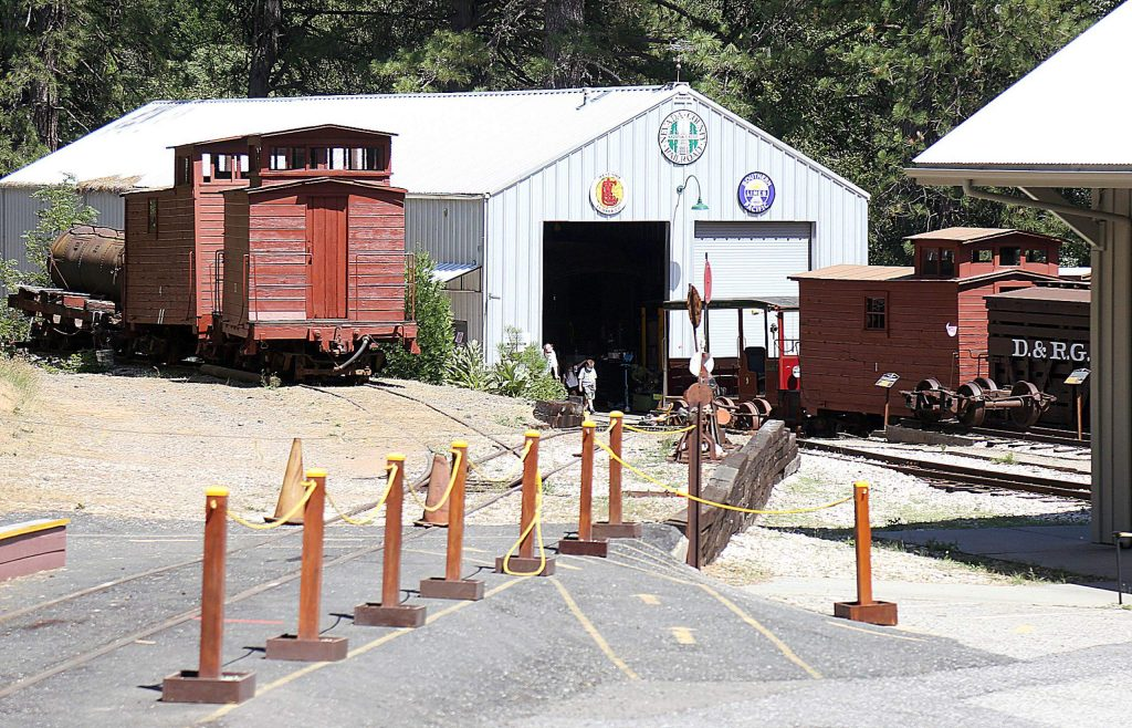 Museum Director, John Christensen, said the museum honors the history of the 22-mile railroad that ran from Colfax to Grass Valley, ending in Nevada City.