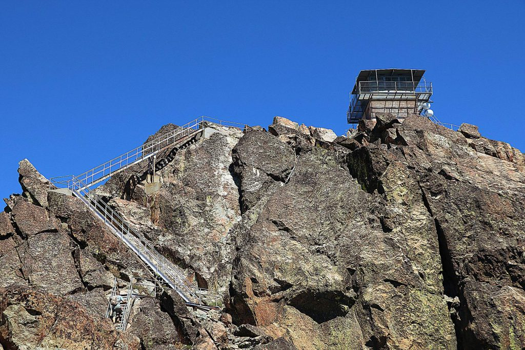The views are just one of the many reasons to make the climb to the top of the Sierra Buttes Lookout Tower.