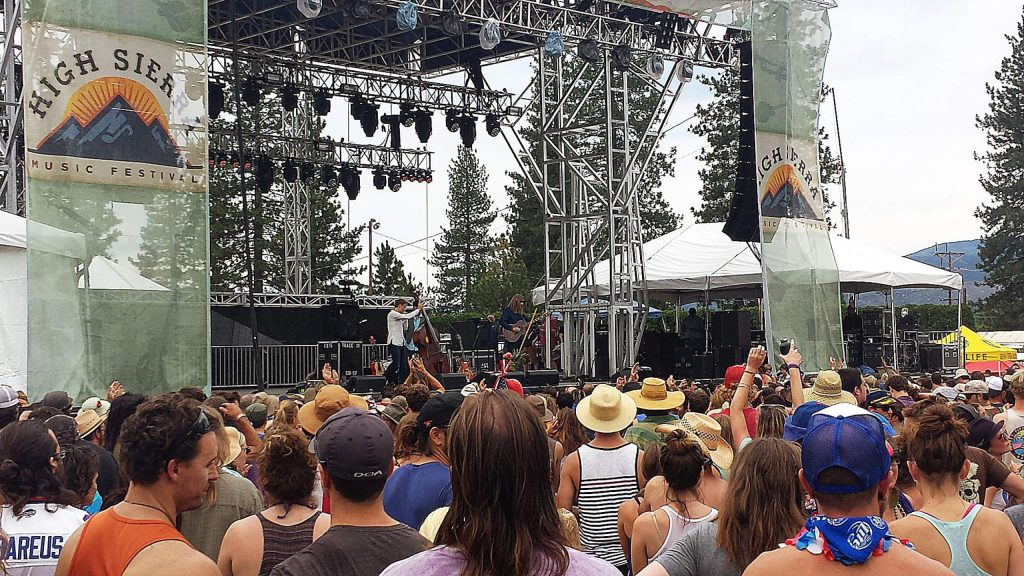 The Wood Brothers play at the 2015 High Sierra Music Festival. That performance will air Sunday at 5 p.m. during a four-day and all-night broadcast on KVMR 89.5 FM and kvmr.org streaming.