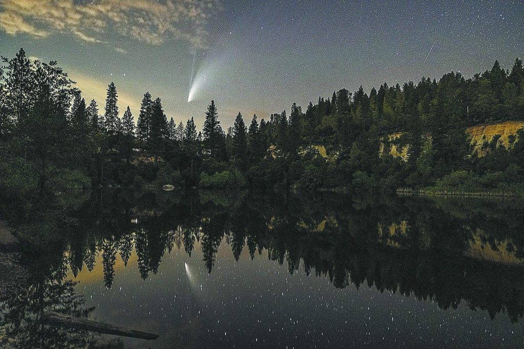 Who else is stargazing? The NEOWISE comet is lighting up the sky in Nevada City.