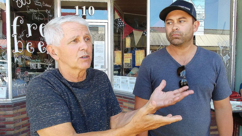 Ken and Chad Paige, owners of Nevada City's Friar Tuck's, express their frustration in being forced to close indoor dining after recently making infrastructure upgrades to their facility to help better deal with the COVID-19 pandemic.
