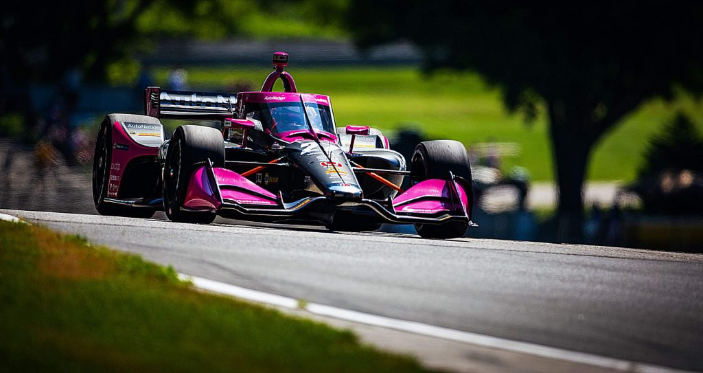 After three consecutive races of mechanical bad luck and unfortunate events, Alexander Rossi can relax after a podium finish at Road America and will carry some good mojo into Iowa Speedway next weekend.