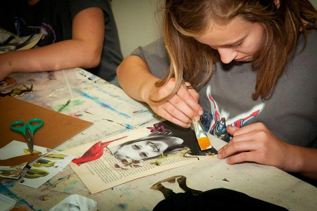 The Center for the Arts is offering Youth Arts Summer Camps from July 20 - Aug. 7.