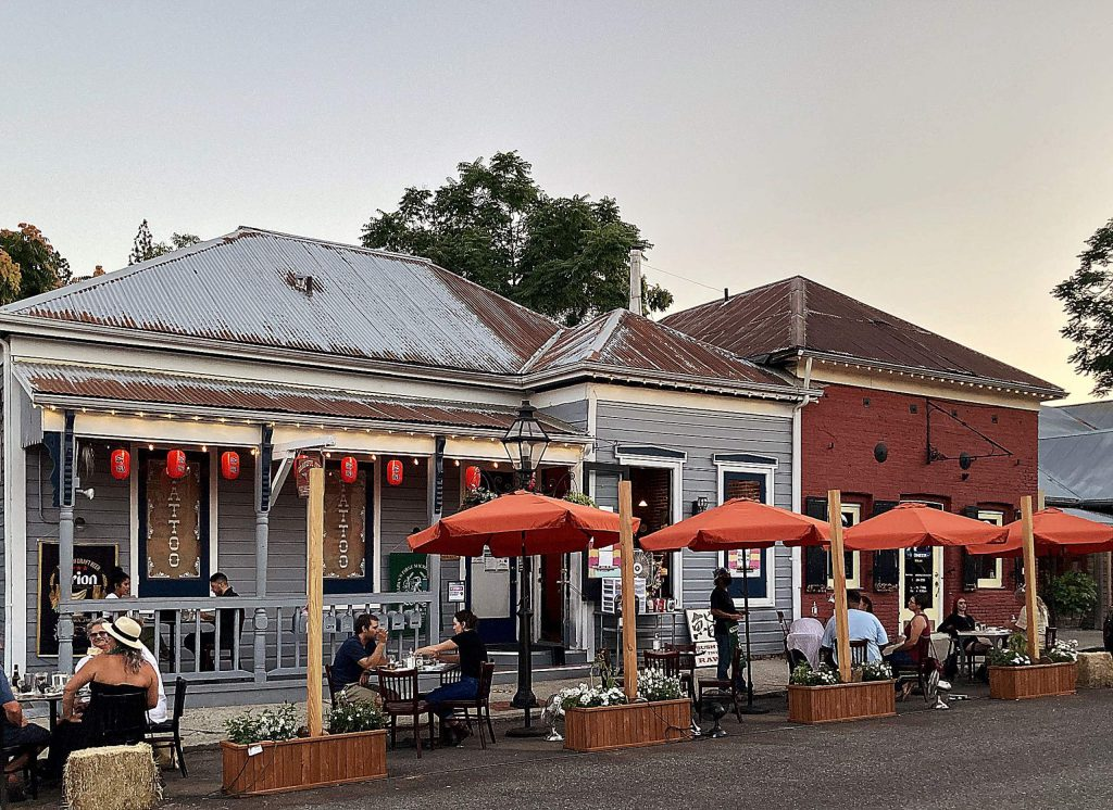 Three Forks, Golden Era and Sushi in the Raw are among restaurants now offering outdoor dining, complying with State mandates while offering a refreshing, outdoor break.