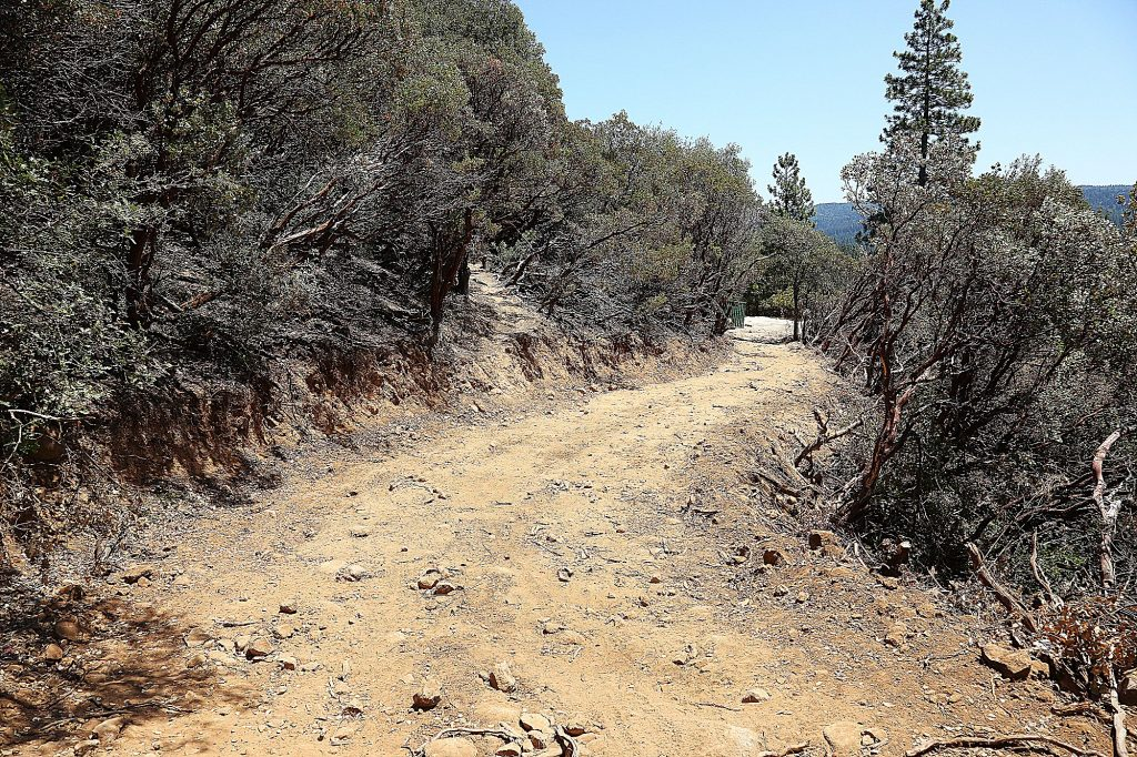The easement carved around Sugarloaf Mountain will help access the interior of the property should the need to eradicate homeless encampments arise in the future.