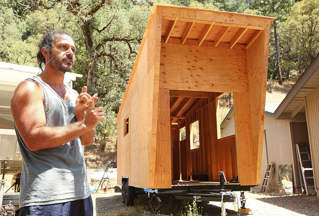Colfax's Mark Root explains the impetus behind his father, Mark Root Sr's, desire to provide tiny homes for a tiny home village. They hope to launch their village in places like Nevada County.