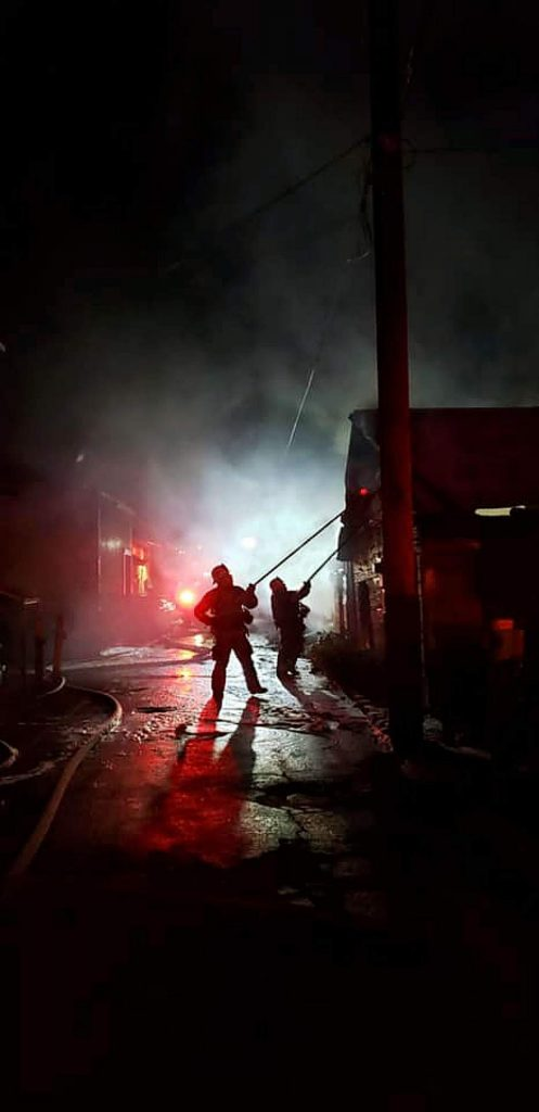 Authorities said the fire broke out around 3 a.m. Sunday and lasted about 40 minutes after the Truckee Fire Protection District responded to the scene, assisted by Cal Fire Truckee/Tahoe Battalion.