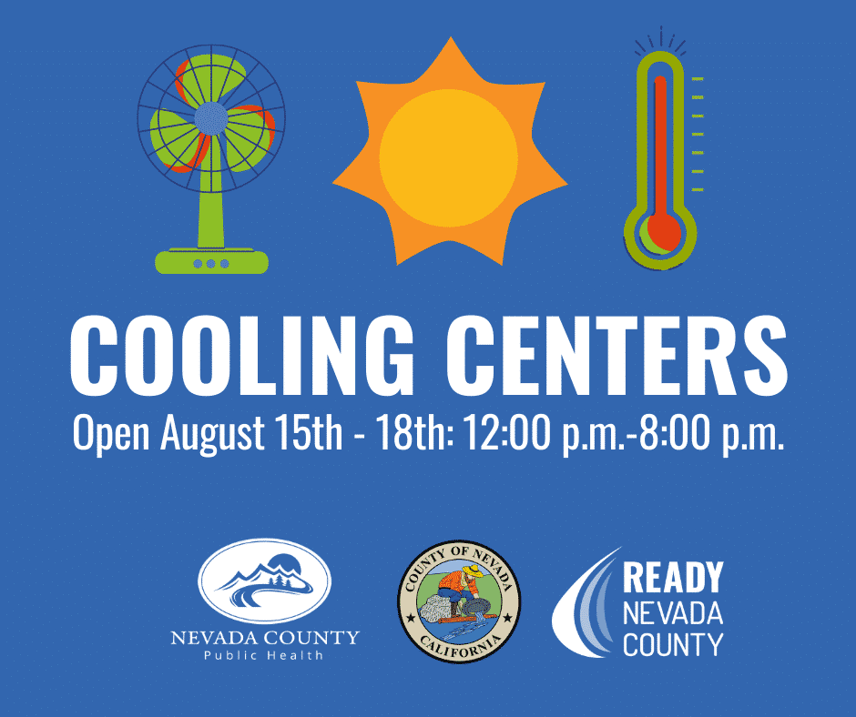 Cooling Centers Available In Western Nevada County