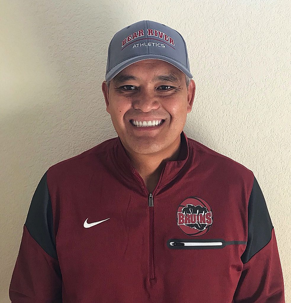 Jason Camacho, Bear River High School's new head boys' basketball coach, has coached at the high school level for over 23 years. He's been part of Bear River's basketball staff for three years.