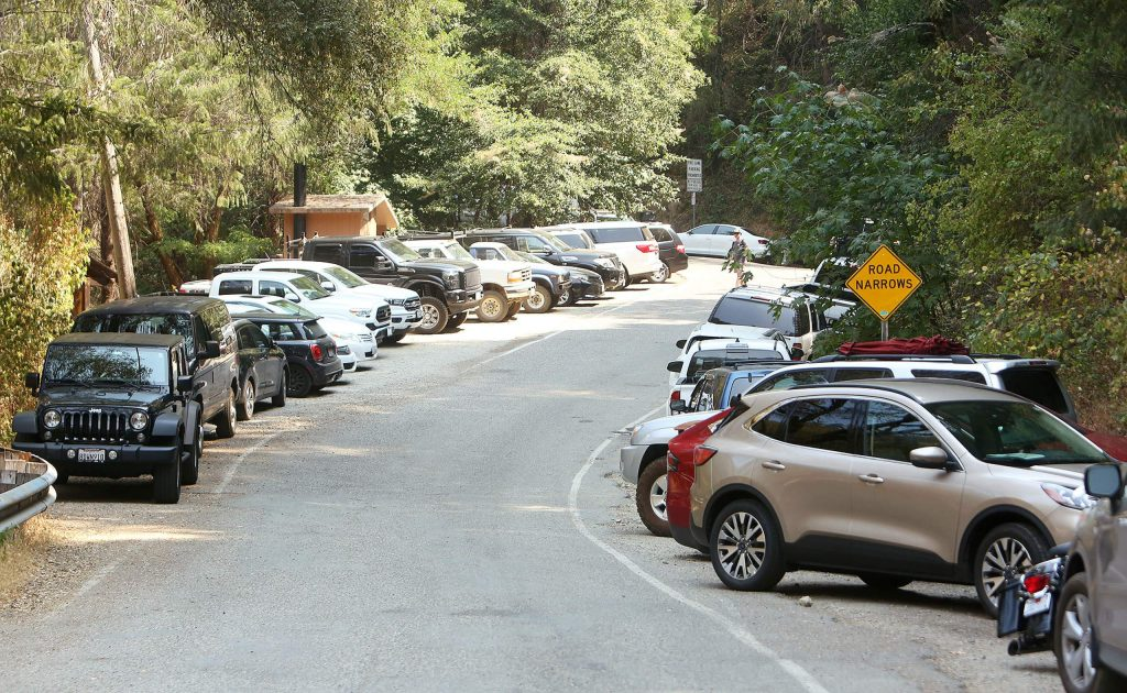 Visitors at Edwards Crossing were behaving themselves pretty well compared to other busier weekends along the South Yuba River according to local law enforcement.