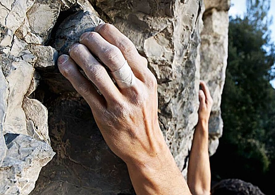 Treating a rock climber injury can expand the whole gamut from head to toe.
