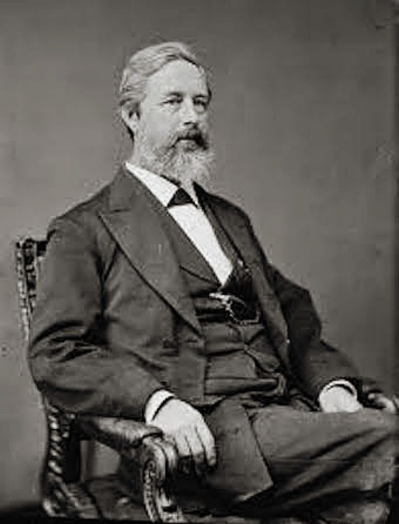 Two years before introducing the exact words that would eventually become the 19th Amendment to the Constitution, Sen. Aaron Augustus Sargent, (1827–1887), proposed that women living in the District of Columbia be given the right to vote, but the bill died at the committee level.