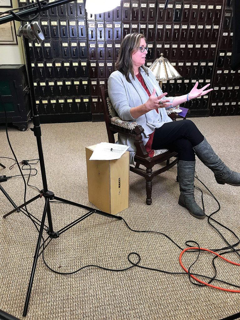 The Union's community reporter Cory Fisher talks about hardscrabble life led by many women during the Gold Rush in Nevada County.