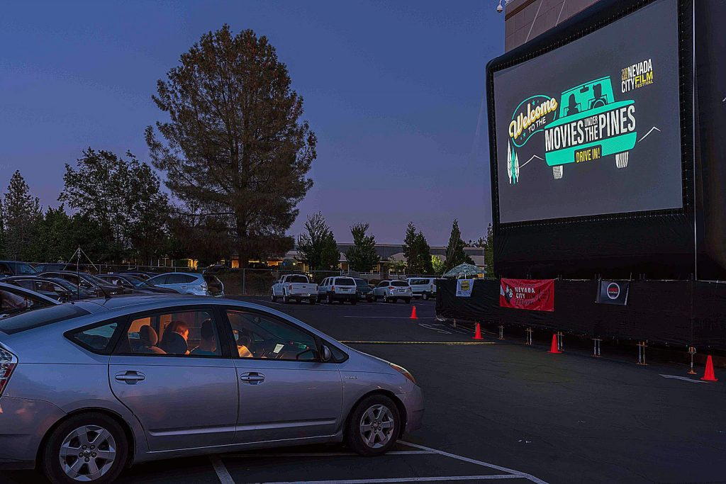 Following a successful drive-in experience this summer which served as its annual Movies Under the Pines series, the theme will continue with nightly films being screened at the Nevada County Fairgrounds. Car-hop vendors will be available for dinner items and ice cream for attendees to enjoy in their vehicles.