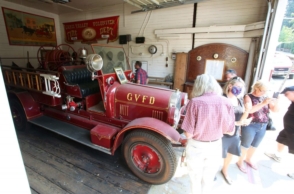 The Reliance Hose Co. No. 3, built in 1891, got its first motor-drawn pumper in 1915 and was the first Grass Valley hose company to switch from horse and man drawn pumpers.