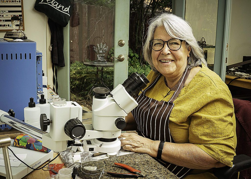 Art Works Gallery has become a go-to location to purchase fine jewelry, and now the gallery is welcoming Vilina Hutter, a long time Nevada County resident who raised her three children here while teaching full time at Nevada Union High School for more than 20 years.