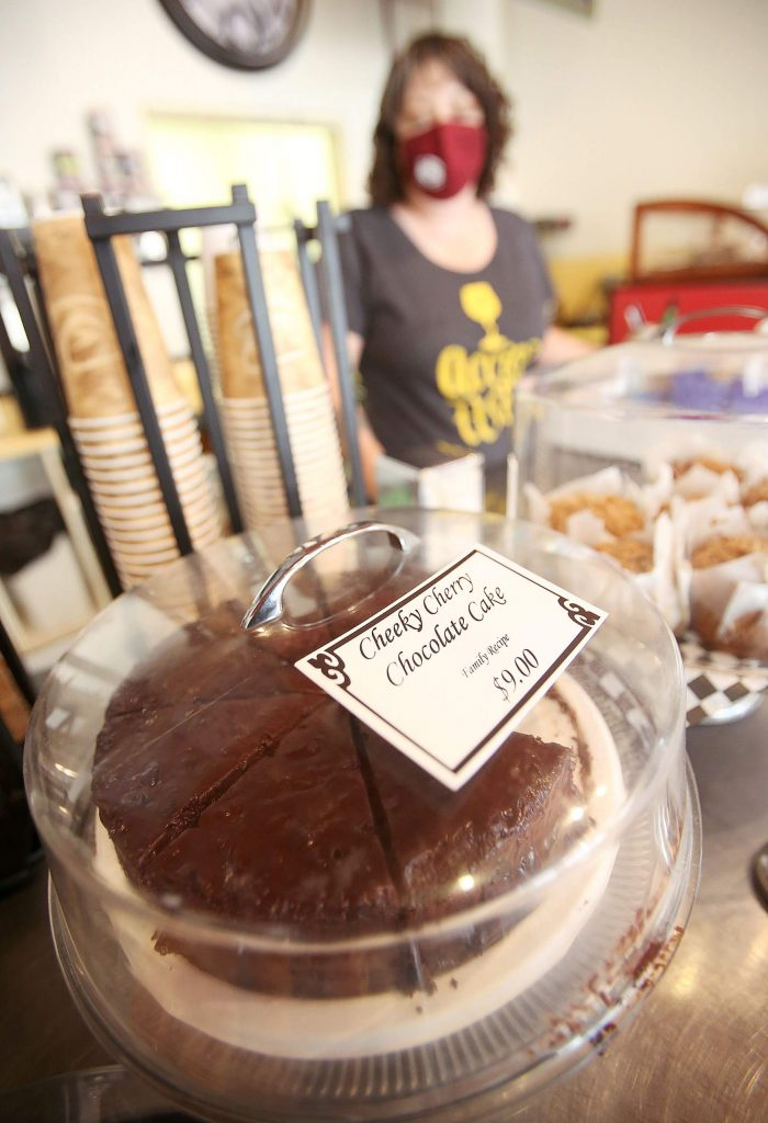 All kinds of goodies can be found to go along with a cup of joe at Java John's in Nevada City, now under new ownership.