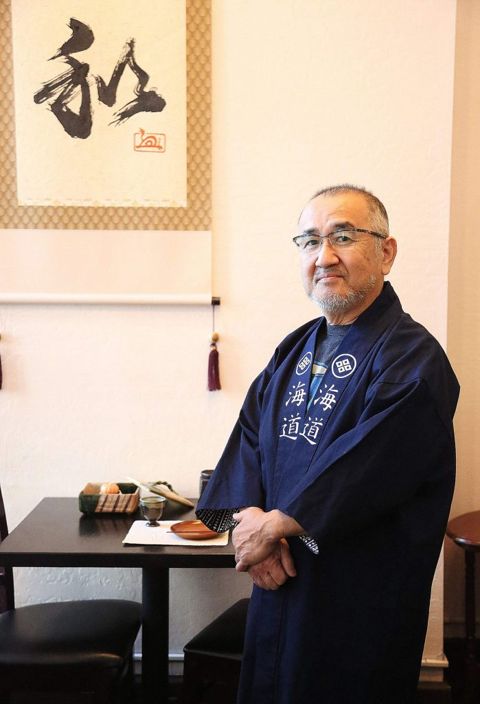 Mukai's decision to offer Kaido up for sale had come before the COVID-19 pandemic forced him to alter the way he does business. Mukai has been making YouTube videos from his sushi kitchen off Main Street in Grass Valley.