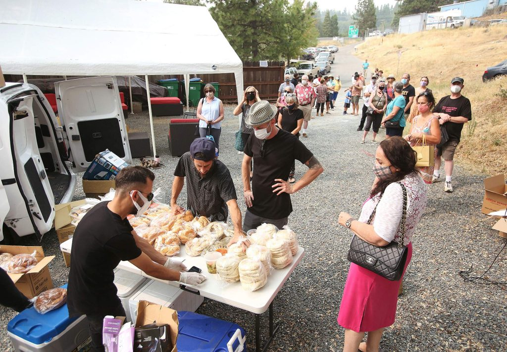 San Francisco's only Kosher bakery, Frena, in partnership with Hummus Bodega, made the trip for the first time to Chabad of Grass Valley to offer authentic Jewish goods to Nevada County ahead of Rosh Hashanah, the Jewish New Year, which begins Sept 18.