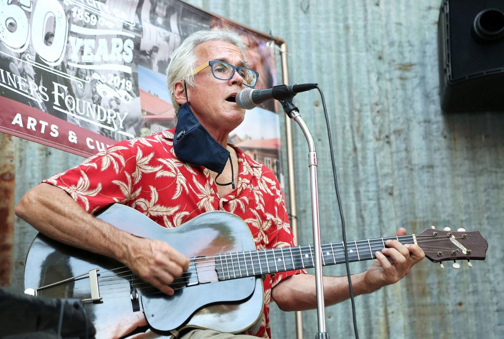 Nevada City musician Peter Wilson recently had one of his gigs temporarily cancelled due to noise issues which have since been cleared up.