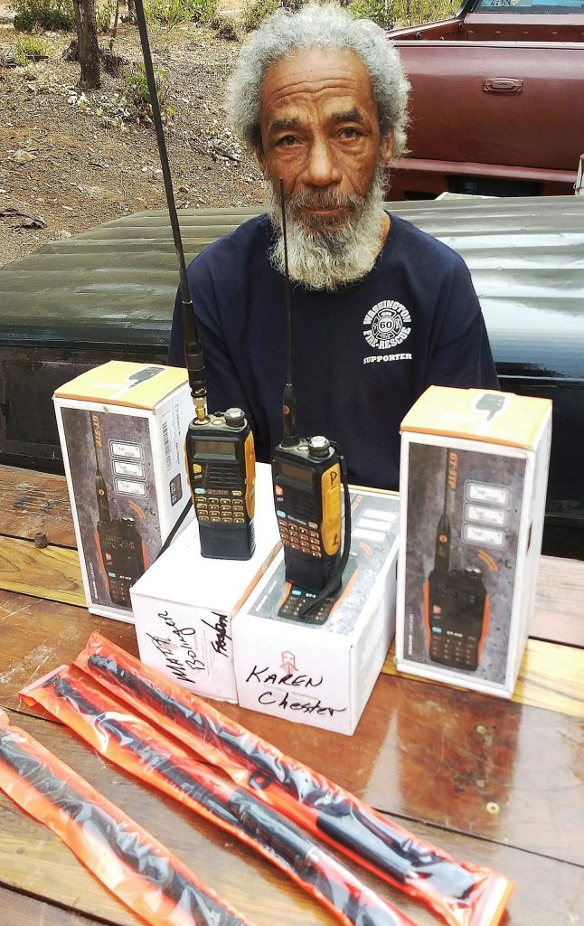 Phillip Copening is spearheading an effort to ensure every Washington resident has a two-way, handheld radio for use during emergencies and power outages.