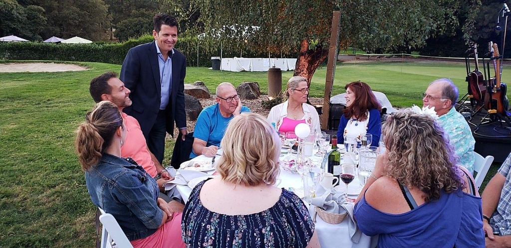 """As with most nonprofits in 2020 and in celebration of their 41st year in service, Hospice of the Foothills has made the move from an in person to a virtual event. It was just a year ago the organization launched """"Moonlight Magic,"""" a festive evening of dinner, dance and auction to raise awareness and much needed funding."""