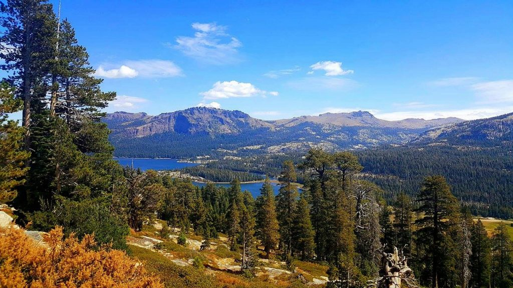 The journey to Emigrant Lake begins with a beautiful drive to the Kirkwood area of Alpine County.