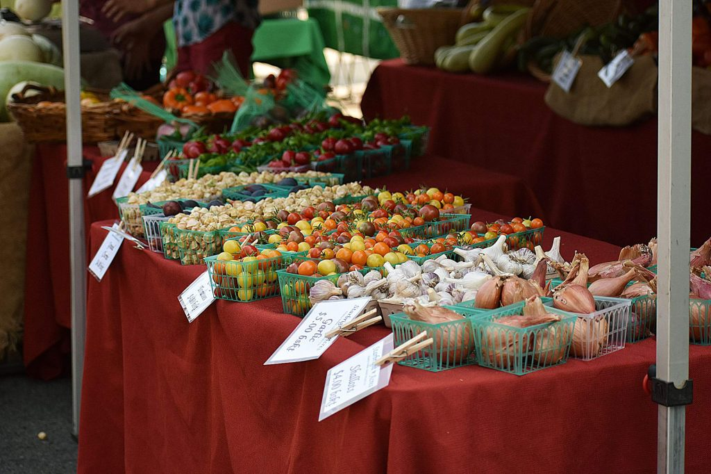Images from a recent Nevada City Farmer's Market.