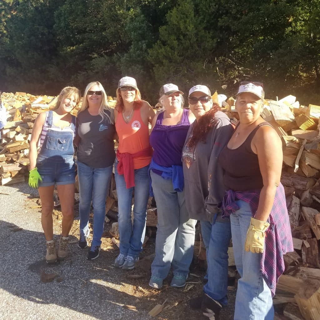 Grab some friends and volunteer.  Photo courtesy of Gold Country Senior Services