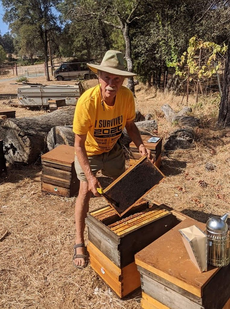 Oliver said beekeepers are made acutely aware of changes in the environment at-large as it is reflected in the health of their apiaries. Surprisingly, the fires and affiliated smoke do not have prolonged detrimental effects on the bees themselves or their honey production.