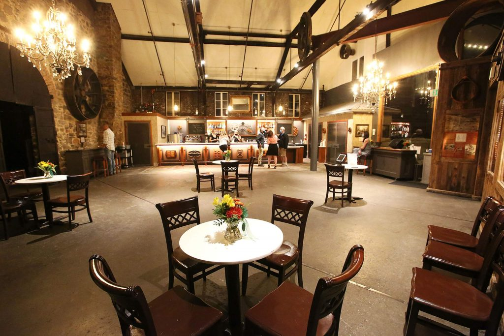 The Miner's Foundry's new 1,200-square-foot bar connects the Stone Hall and main stage areas of the Nevada City arts and cultural center.