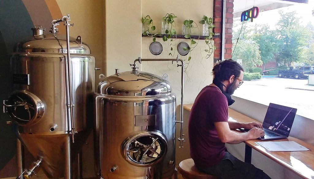 Elixart's new Grass Valley location is also where some of its drinks are brewed and bottled for sale.