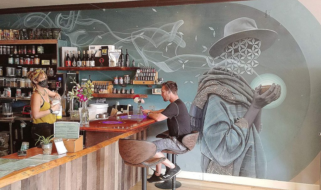 The new Elixart in Grass Valley is open and features food as well as its renowned teas and drinks.