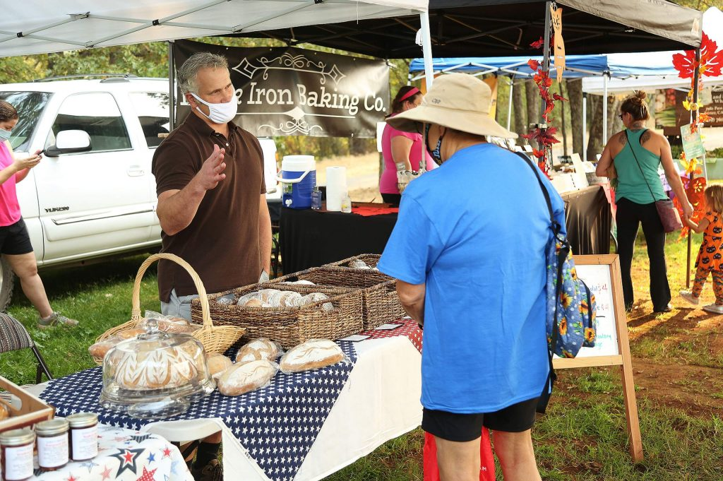 The very popular sourdoughs and jams from Lake Wildwood-based cottage food baker John's Bread are just one of the sought after locally made food items offered each Thursday morning from the Tasty Thursday Farmers' Market at Western Gateway Park.