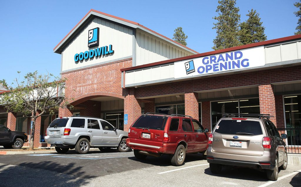 The new Goodwill store on Sutton Way in Grass Valley takes the place of the former appliance and thrift store.